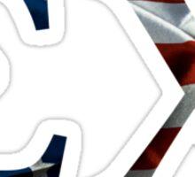 Sigma Chi American Flag Sticker