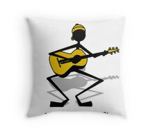 Serenade2 - Muzik Stix Collection Throw Pillow