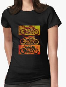 Fast Naked Bike Womens Fitted T-Shirt