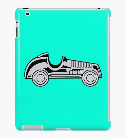 Vintage car geek funny nerd iPad Case/Skin