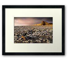 Heritage Coast, South Wales Framed Print