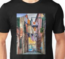 Clotheslines In Venice Italy Unisex T-Shirt