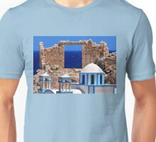 Sacred gate of the Aegean Unisex T-Shirt