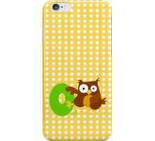 o for owl iPhone Case/Skin
