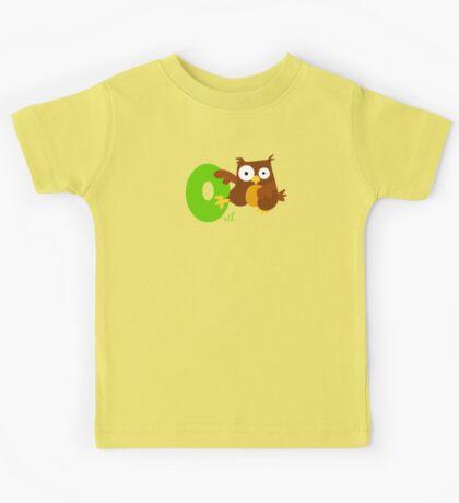 o for owl Kids Tee