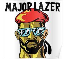 Major Lazer Logo Poster