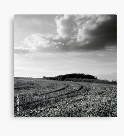 Clouds - Northumberland Canvas Print