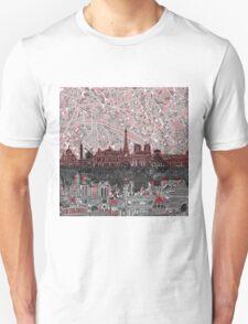 paris skyline abstract 7 Unisex T-Shirt