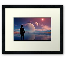 Bowling's World Framed Print