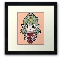 Tiki Chibi Framed Print
