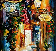 VIBRATIONS OF THE TIME - Original Art Oil Painting By Leonid Afremov by Leonid  Afremov