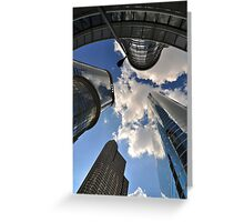Urban Landscapes Greeting Card
