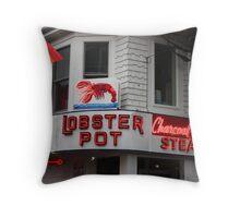 The Lobster Pot Throw Pillow