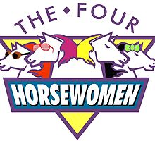 The 4 Horsewomen  by Padgett
