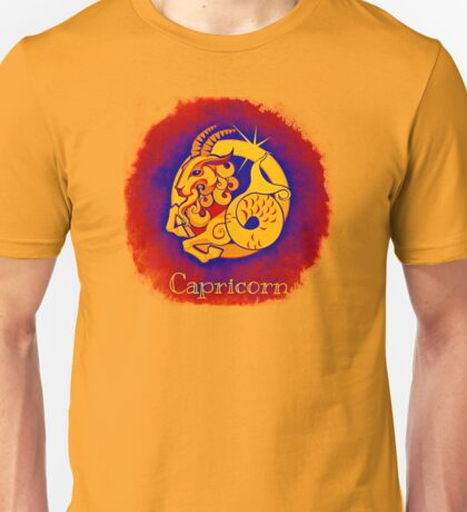 Zodiac: Capricorn Unisex T-Shirt