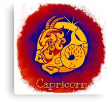 Zodiac: Capricorn Canvas Print