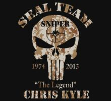 American Sniper Chris Kyle US Navy Legend Punisher Army  by angga80