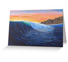 Cliffside Color Greeting Card