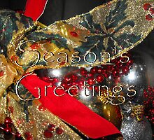 Seasons Greetings And Thank You To All! by Ruth Palmer