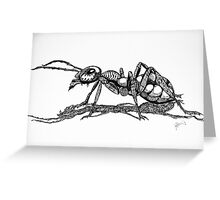 Army Ant Greeting Card