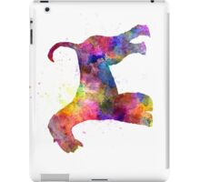 Airedale Terrier 01 in watercolor iPad Case/Skin