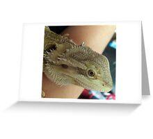 Bearded dragon Greeting Card