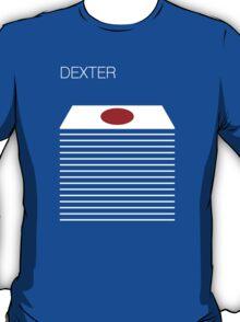 Dexter - Blood Slide - Trophy - Minimalist T-Shirt