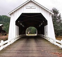 Hayden Bridge Covered Bridge by OrPhotoJohn