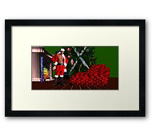 Christmas Card for the Ladies Framed Print