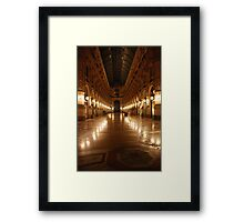 Mall, Milano Style Framed Print