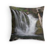 McKay Crossing Falls in Eastern Oregon Throw Pillow