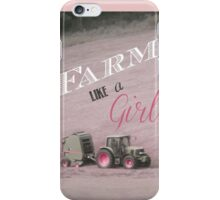 Farm Like A Girl Special Edition iPhone Case/Skin