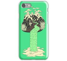 Levitating Island with a Source coming from nowhere iPhone Case/Skin