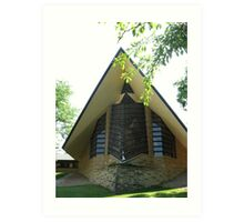 Unitarian Meeting House -- Madison, Wisconsin Art Print
