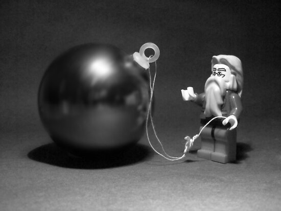 Santa Bauble  by HRLambert