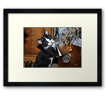 """"""" And so this is CHRISTmas """" Framed Print"""