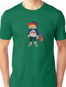 Toddies Hooray USA Red, White and Blue Fourth of July Baby BoyToddler Unisex T-Shirt