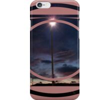 lone lamppost iPhone Case/Skin