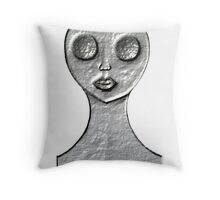 Hollow - Darkness Within Throw Pillow