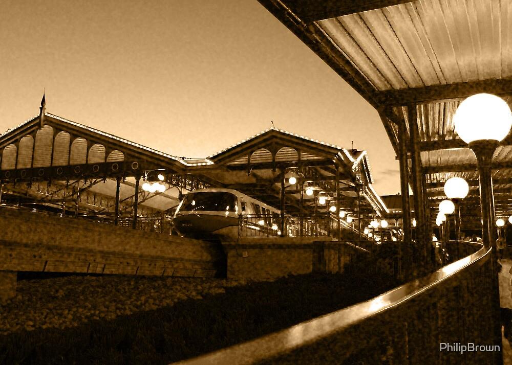 Magic Kingdom's Monorail by PhilipBrown