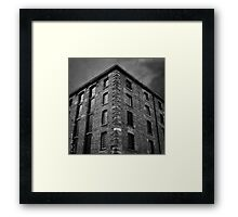 Dark Satanic Mills - Liverpool Framed Print