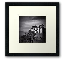 Ruined Villa - Italy Framed Print