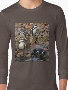 Penguin's Long Sleeve T-Shirt