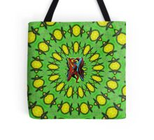 Human Butterfly Tote Bag