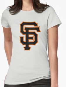 SF for SF Womens Fitted T-Shirt