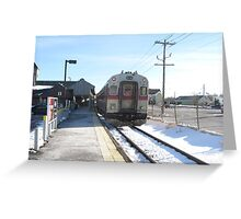 1520 MBTA Commuter Rail Greeting Card