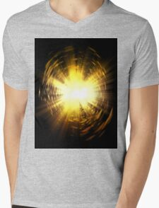 Burst Mens V-Neck T-Shirt