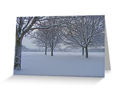 Exeter @ Winter Greeting Card