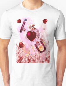 i heart u graphic front T-Shirt