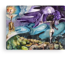 Spilt Blood and Personifications Canvas Print